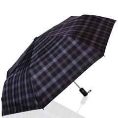 Зонт мужской в клетку ТРИ СЛОНА 907-8