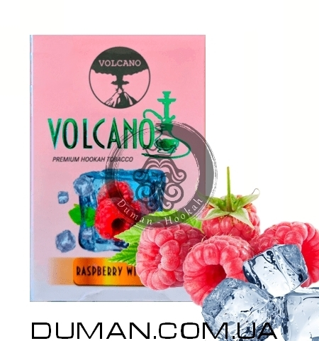 Табак Volcano Raspberry With Ice (Вулкан Лед Малина)