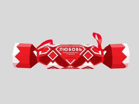 Большая конфета Любовь мармеладная 80г