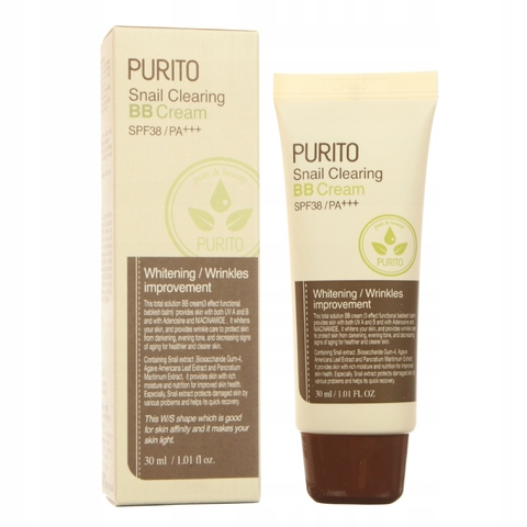 PURITO ББ крем PURITO Snail Clearing BB cream