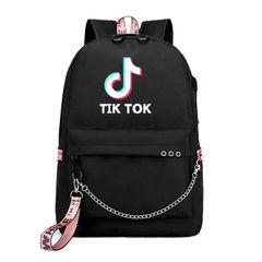 Рюкзак с принтом Тик Ток