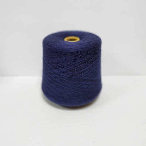 Zegna Baruffa, Cashwool, Меринос 100%, Темный сине-фиолетовый, 2/30, 1500 м в 100 г