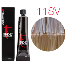 Goldwell Topchic 11SV (серебристо-фиолетовый блондин) - Cтойкая крем краска