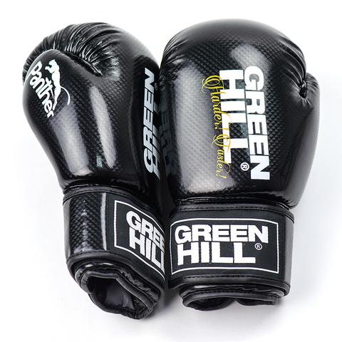 Перчатки для кикбоксинга  Panther BGP-2098, Green Hill
