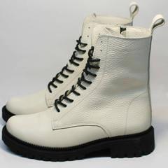 Женские ботинки на зиму Ari Andano 740 Milk Black.
