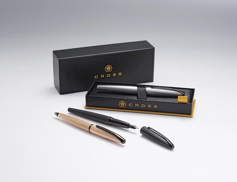Cross ATX - Brushed Black PVD, шариковая ручка