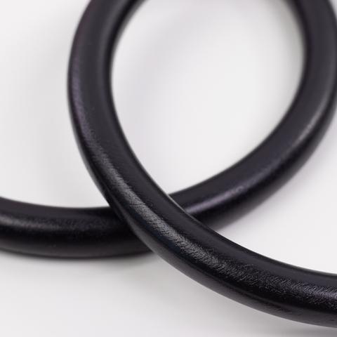 Деревянные ручки для сумки N3 черные