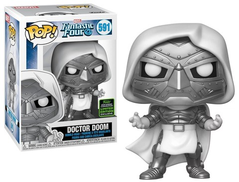 Doctor Doom (Fantastic Four) Funko Pop! Bobble || Доктор Дум : ECCC (Exc)