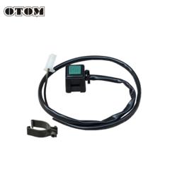 Кнопка двиг-стоп универсальная OTOM, D45-00-100 зеленый