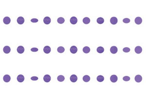 Гирлянда Круги Purple блеск