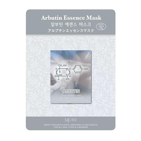 Листовая маска с арбутином Mijin Cosmetics Arbutin Essence Mask