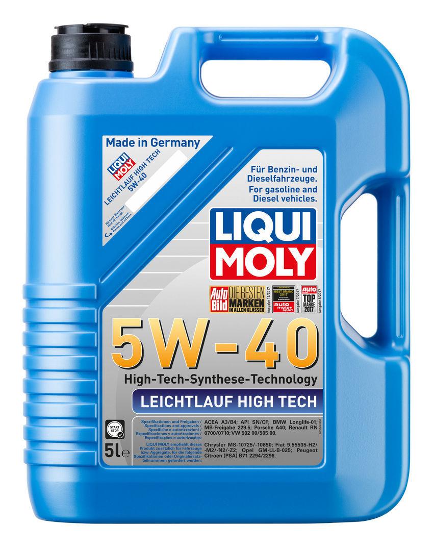 Leichtlauf High Tech 5W 40 НС-синтетическое моторное масло