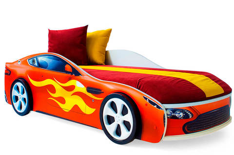 Кровать-машинка с подъемным механизмом
