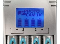 Быстрая зарядка Photocam IV (АА, ААА) + 4 AA MaxE (2500mAh)