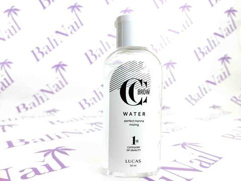 CC BROW, Вода для разведения хны CC Brow Water, 50 мл