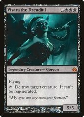 Visara the Dreadful (From the Vault: Legends Foil, English) NM