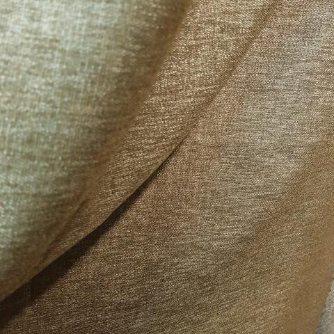 Блэкаут лен для штор золотисто-коричневый оптом. BLL-168SH
