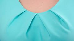 Ажур. Платье для особого случая плюс сайз. Мята.