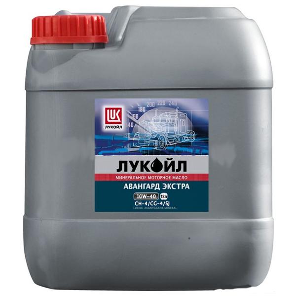 Лукойл Авангард Экстра 10W-40 CH-4 - Полусинтетическое моторное масло