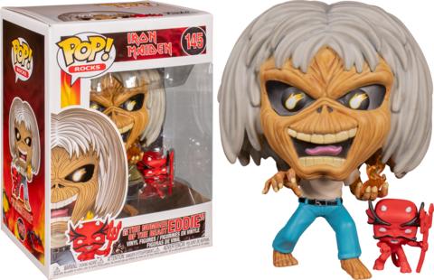 The Number of the Beast Eddie (Iron Maiden) Funko Pop! Vinyl Figure || Эдди Число Зверя