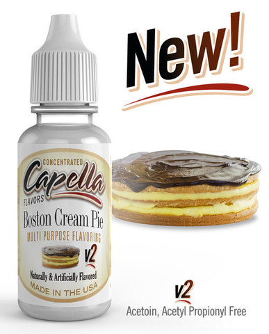 Ароматизатор Capella Boston Cream Pie