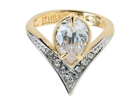 Кольцо с позолотой Фюрн