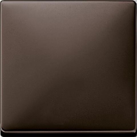 Выключатель одноклавишный. Цвет Коричневый. Merten. MTN3111-0000+MTN3300-4015