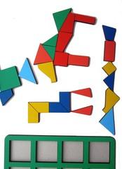 Сложи квадрат Б.П.Никитин, 1 уровень (макси), Smile-Decor, арт. Н004