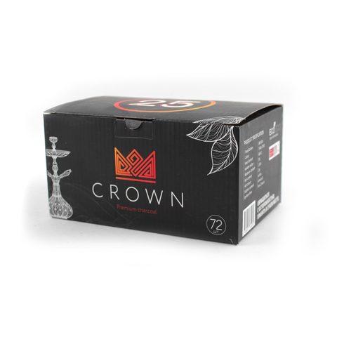 Уголь CROWN 25 кубик (72 штуки)