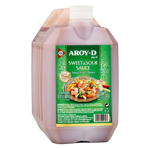 Соус кисло-сладкий Aroy-D, 5,3кг