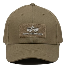 Кепка Alpha Industries Logo Olive (Зеленая)