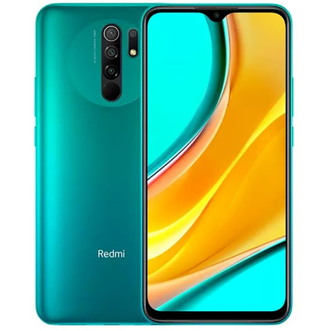 Смартфон Xiaomi Redmi 9 4/64GB NFC Зеленый (Green) Global Version