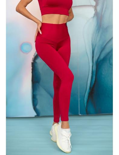 Купить красные спортивные легинсы Serenity Persian Red с доставкой по России