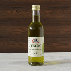 Уксус яблочный зеленый 6% 250мл