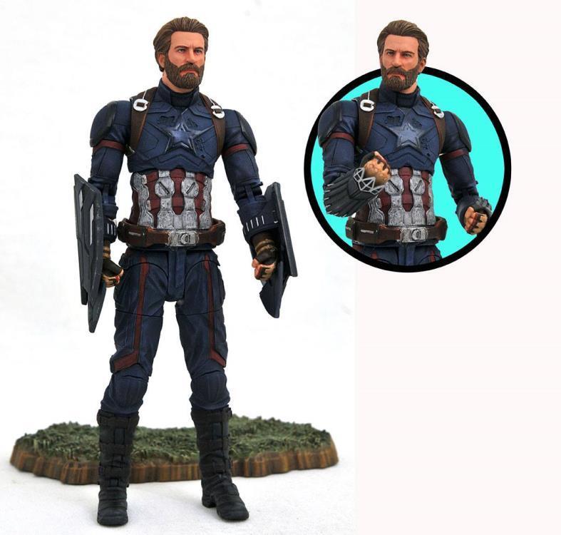 Фигурка Капитан Америка «Мстители: Война Бесконечности» Marvel Select