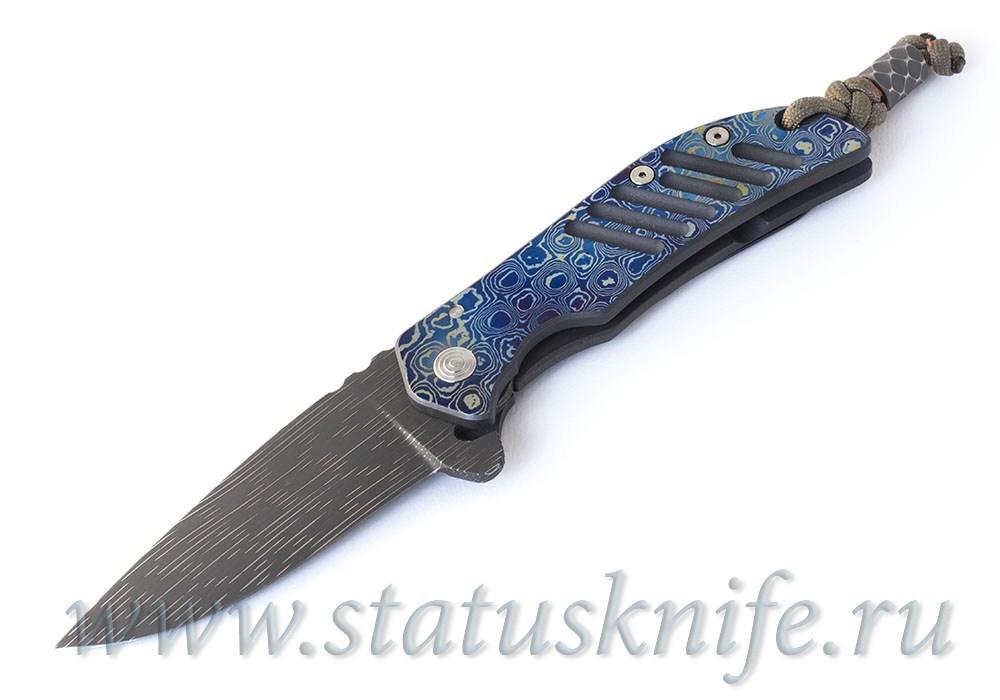 Нож Jeremy Robertson El Patron Timascus Delux