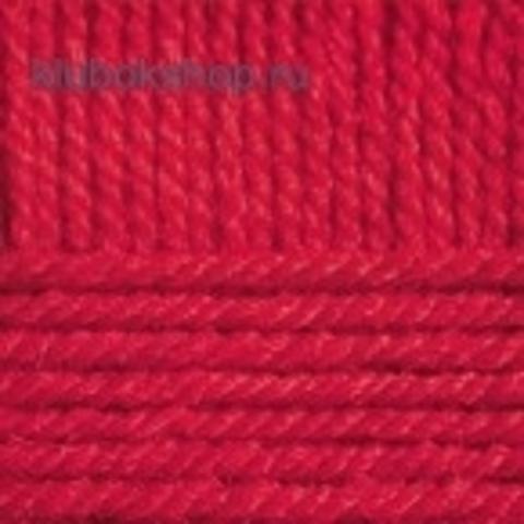 Пряжа Популярная (Пехорка) цвет 06 красный