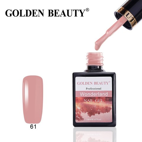 Гель лак Golden Beauty 14 ml, Wonderland