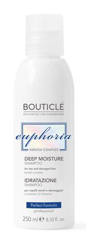 Увлажняющий шампунь для волос с Keratin Complex - Bouticle Deep Moisture Shampoo - 250 мл