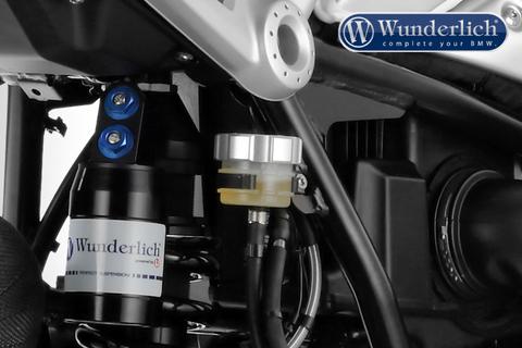 Крышка бачка тормоз. жидкости BMW задняя серебро