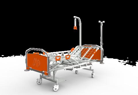 Кровать медицинская функциональная КФ-4 премиум - фото
