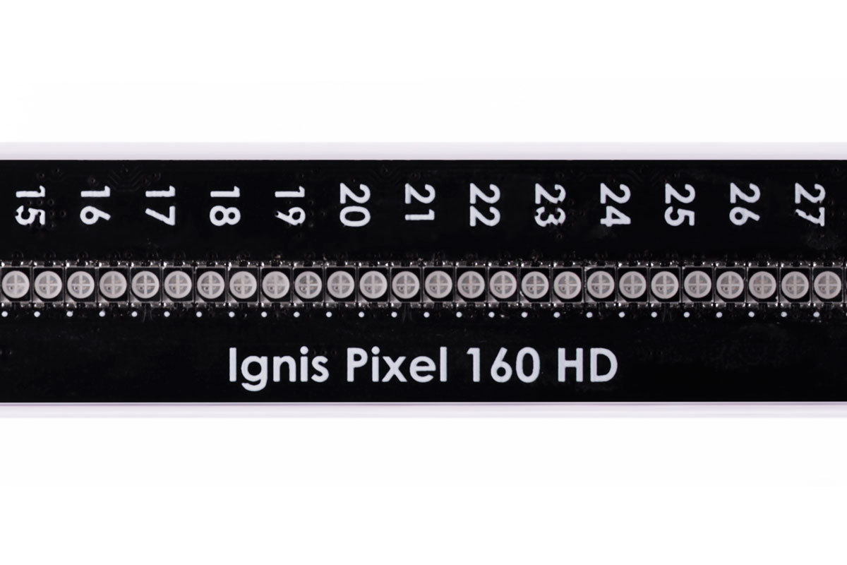 High resolution digital poi Ignis Pixel 160 HD