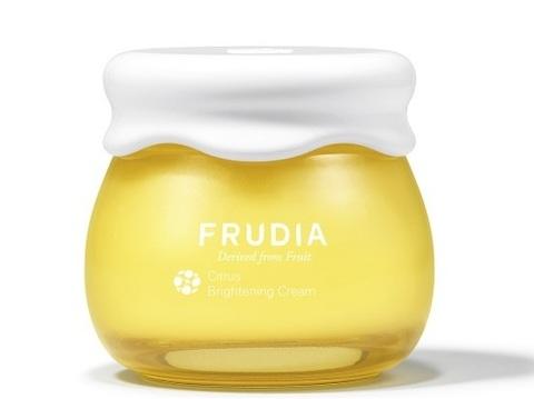 Крем с цитрусом, придающий сияние коже Citrus Brightening Cream Frudia 55 мл