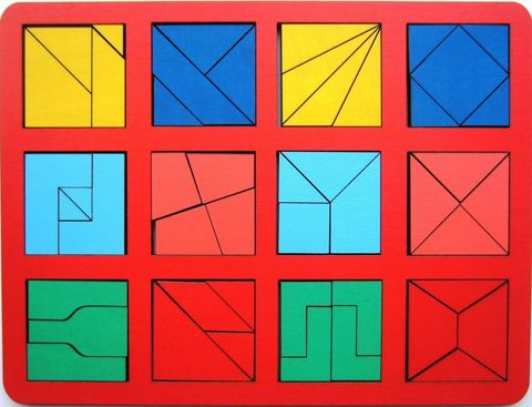 Сложи квадрат Б.П.Никитин, 2 уровень (макси), Smile-Decor