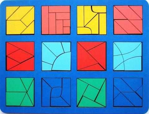 Сложи квадрат Б.П.Никитин, 3 уровень (макси), Smile-Decor
