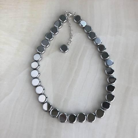 Чокер Кира, серебряный цвет
