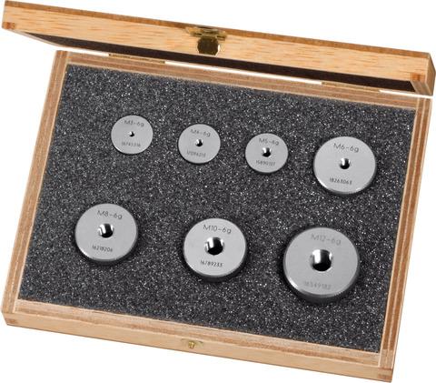 Набор резьбовых проходных калибр-колец M3-M12