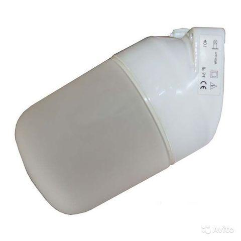 Светильник НПБ400-1 для сауны настенный, наклонный, IP54, 60 Вт, белый, TDM
