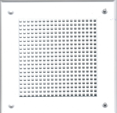 Решётка 150*150 белая, мелкая клетка