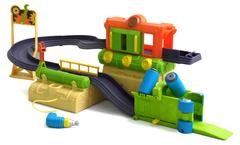 Игровой набор 'Вагоноремонтный завод с Брюстером' (Чаггингтон, LC54202)